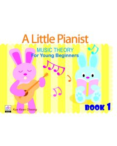 A LITTLE PIANIST-MUSIC THEORY FOR YOUNG BEG BK1
