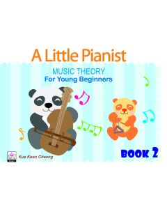 A LITTLE PIANIST-MUSIC THEORY FOR YOUNG BEG BK2