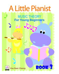 A LITTLE PIANIST-MUSIC THEORY FOR YOUNG BEG BK3