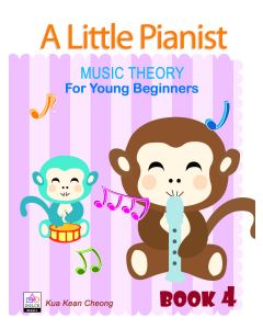 A LITTLE PIANIST-MUSIC THEORY FOR YOUNG BEG BK4