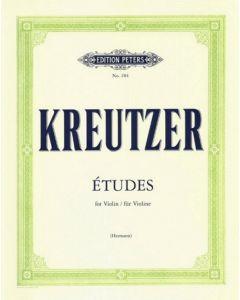 KREUTZER 42 STUDIES/CAPRICES HERMANN VIO
