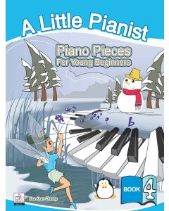 A LITTLE PIANIST-PIANO PCS FOR YOUNG BEGINNERS BK4