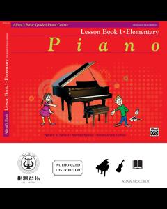 ALFRED'S BASIC GRADED PIANO COURSE LESSON BOOK 1