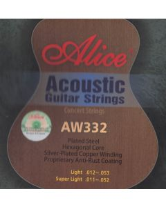 ALICE ACOUSTIC GUITAR STRINGS AW332-SL