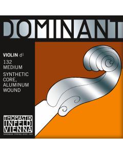 DOMINANT VIOLIN STRING 'D' MITTEL ALUMIMIUM (PC)