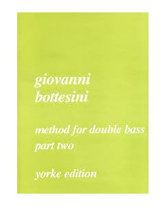 YORKE PT2 METHOD D.BASS By BOTTESINI