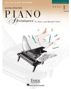 FABER ACCELERATED PIANO ADV LESSON BK 1
