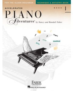 FABER ACCELERATED PIANO ADV TECHNIQUE BK 1