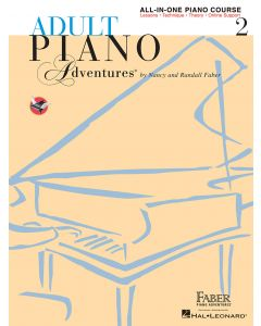 FABER ADULT PIANO ADV ALL IN ONE LESSON BK2