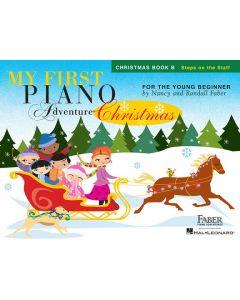 FABER MY 1ST PIANO ADV CHRISTMAS BK B