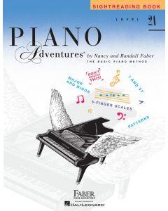 FABER PIANO ADV SIGHTREADING L2A