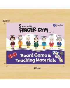 5 MINS A DAY BOARD GAME & TEACHING MATERIALS
