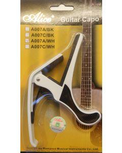 ALICE GUITAR CAPO A007A/WH