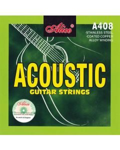 ALICE ACOUSTIC GUITAR STRINGS A408K-L