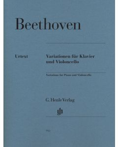 BEETHOVEN VARIATIONS FOR CELLO&PIA