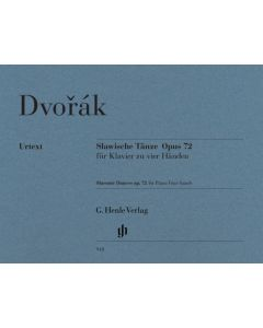 DVORAK SLAVONIE DANCES OP.72 PF4H