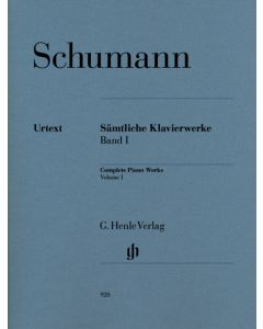 SCHUMANN COMPLETE PIANO WORKS VOL I