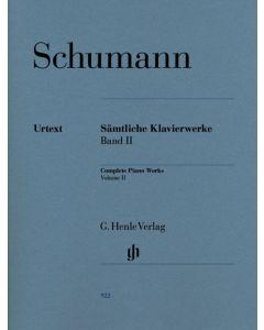 SCHUMANN COMPLETE PIANO WORKS VOL II