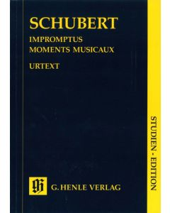 SCHUBERT IMPR/MOM/MUS SE STUDY SCORE