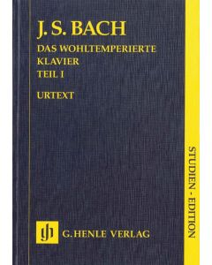 BACH THE WELL-TEMPERED KLAVIER P1 BMV846-869 STUDY