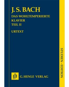 BACH THE WELL-TEMPERED KLAVIER P2 BMV870-893 STUDY
