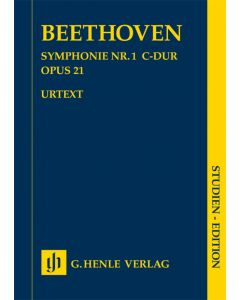 BEETHOVEN SYMP #1 SE STUDY SCORE