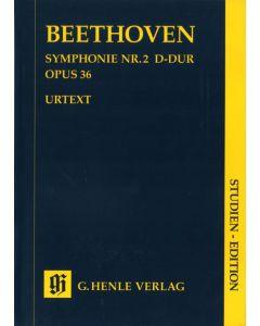 BEETHOVEN SYMP #2 SE STUDY SCORE