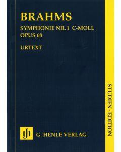 BRAHMS SYMP #1 SE STUDY SCORE