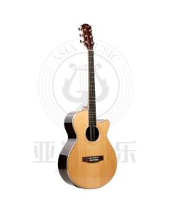 """AUTHORIZED RESELLER - Smiger 40"""" Solid Top Acoustic Guitar"""