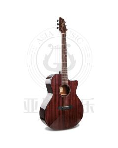 """AUTHORIZED RESELLER - Smiger 41"""" Solid Top Acoustic Guitar"""