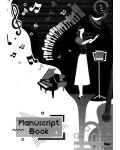 MANUSCRIPT BOOK A4