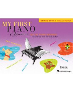 FABER MY 1ST PIANO ADV WRITING BK C