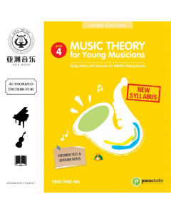 MUSIC THEORY FOR YOUNG MUSICIANS GRADE 4