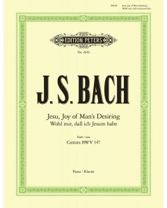 BACH JESU MANS DESIRING FROM CANTATA BWV147