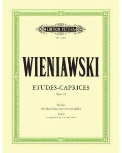WIENIAWSKI ETUDES CAPRICES OP18 2VIO/PF