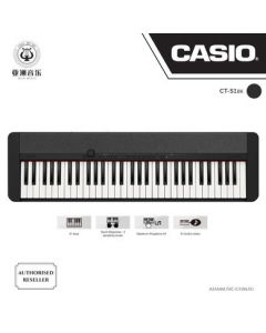 AUTHORIZED RESELLER - CASIOTONE - CT-S1 - BLACK COLOUR - FREE BLUETOOTH DONGLE (WU-BT10) WORTH $89! + $10 MUSIC VOUCHERS & FREE MUSIC TRIAL LESSON WORTH $40!