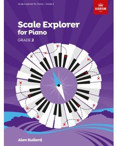 BULLARD, SCALE EXPLORER FOR PIANO, GRADE 2