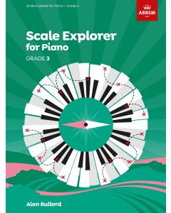 BULLARD, SCALE EXPLORER FOR PIANO, GRADE 3