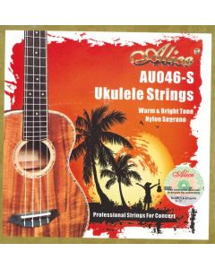 ALICE UKULELE STRINGS NYLON SOPRANO AU046-S