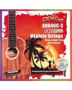 ALICE UKULELE STRINGS NYLON SOPRANO AU046C-S