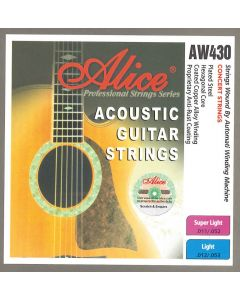 ALICE ACOUSTIC GUITAR STRINGS AW430-L