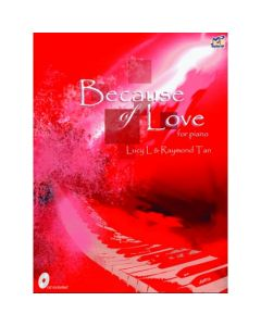 BECAUSE OF LOVE RED BK W/CD