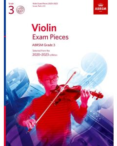 VIOLIN EXAM PIECES 2020-2023 G3 W/CD