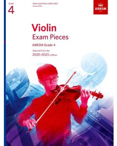 VIOLIN EXAM PIECES 2020-2023 G4