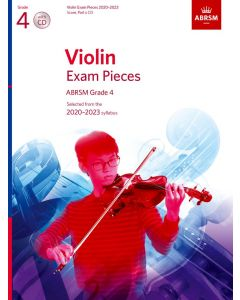 VIOLIN EXAM PIECES 2020-2023 G4 W/CD