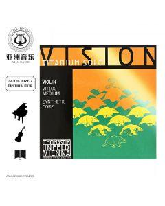 AUTHORIZED DISTRIBUTOR - VISION VIOLIN STRING TITANIUM SOLO