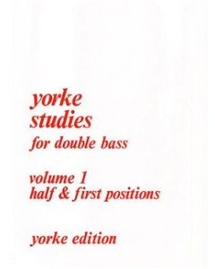 V1 YORKE STUDIES FOR DOUBLE BASS